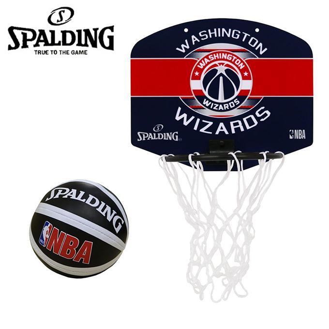 購入後レビュー記入でクーポンプレゼント中 スポルディング バスケットゴール 爆安プライス 室内 マイクロミニバックボード SPALDING 77-674J NBAロゴ入り 大好評です ウィザーズ
