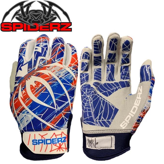 スパイダーズ SPIDERZ 野球 バッティンググローブ 両手用 メンズ スパイダーズバッティング手袋LITE MC-SP241
