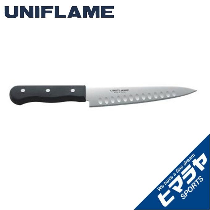 ユニフレーム 人気の製品 多機能ナイフ ギザ刃 牛刀 UNIFLAME 661826 特価品コーナー☆