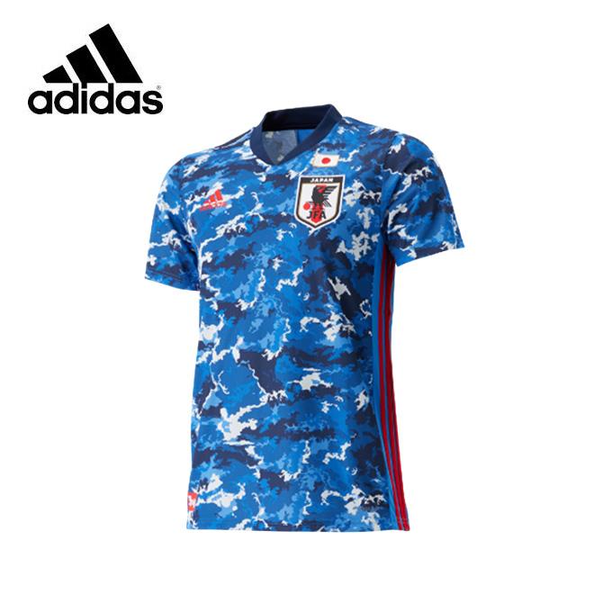 アディダス サッカー日本代表 2020 ホーム レプリカ ユニフォーム半袖 マーク無し ED7350 GEM11 メンズ レディース adidas