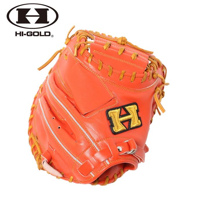 【5/5はクーポンで1000円引&エントリーかつカード利用で5倍】 ハイゴールド HI-GOLD 野球 一般軟式グラブ 捕手用 メンズ 己極シリーズ OKG-643M