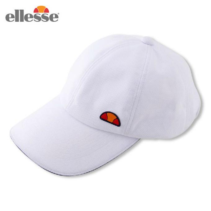 【購入後レビュー記入でクーポンプレゼント中】 エレッセ 帽子 キャップ メンズ レディース プラクティスキャップ EAC10100 W ellesse