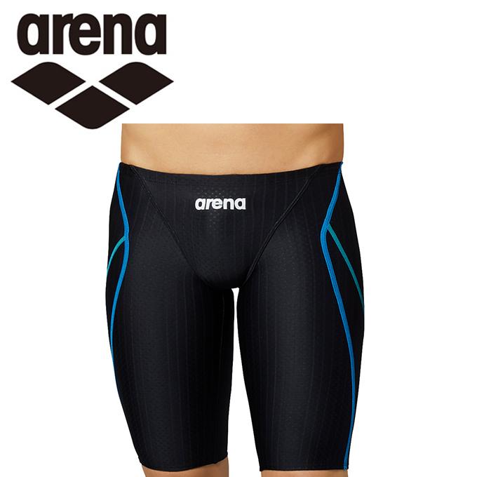 購入後レビュー記入でクーポンプレゼント中 アリーナ お金を節約 FINA承認 競泳水着 新入荷 流行 arena ARN-0052MJ-BKBU ジュニアハーフスパッツ