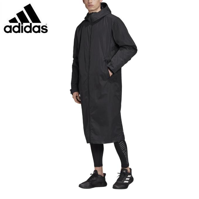 【エントリーで9倍 8/10~8/11まで】 アディダス ロングコート メンズ テックパーカー FI4659 GLF72 adidas