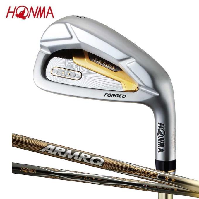 【5/5はクーポンで1000円引&エントリーかつカード利用で5倍】 本間ゴルフ HONMA ゴルフクラブ アイアンセット 6本組 メンズ BERES アイアン-2Sグレード シャフト ARMRQ 47 2S