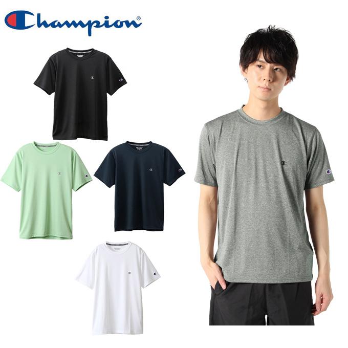 【購入後レビュー記入でクーポンプレゼント中】 チャンピオン スポーツウェア 半袖 メンズ スポーツ C VAPOR Tシャツ C3-QS301