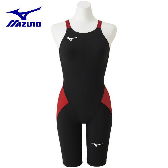 ミズノ FINA承認 競泳水着 レディース 競泳用MX・SONIC α ハーフスーツ N2MG0211 96 MIZUNO