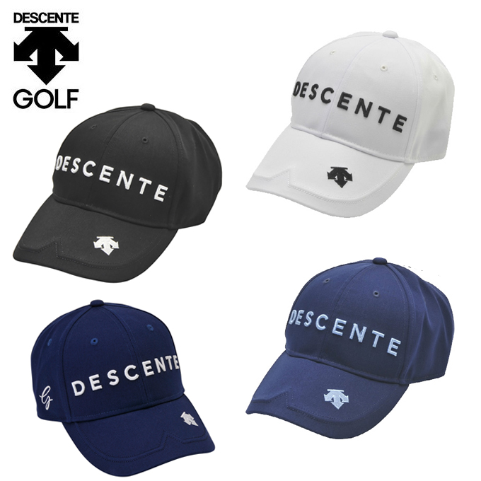 購入後レビュー記入でクーポンプレゼント中 デサントゴルフ 百貨店 DESCENTE GOLF ゴルフ タイムセール ツイルキャップ キャップ メンズ DGBPJC00