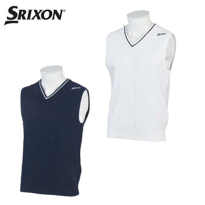 スリクソン SRIXON ゴルフウェア ベスト メンズ ニットベスト RGMPJL81