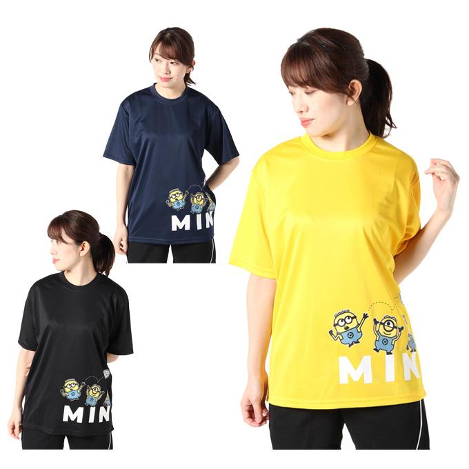 購入後レビュー記入でクーポンプレゼント中 ミニオンズ バレーボールウェア 半袖シャツ レディース オンラインショップ 22843068 MINIONS バレー半袖Tシャツ minions メーカー在庫限り品