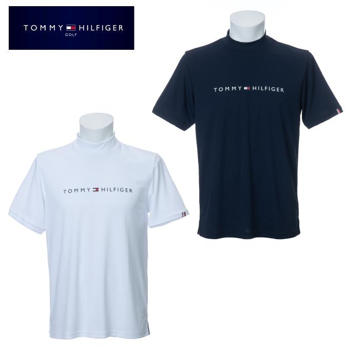 トミーヒルフィガーゴルフ TOMMY HILFIGER GOLF ゴルフウェア 半袖シャツ メンズ THロゴモックネック半袖シャツ THMA016