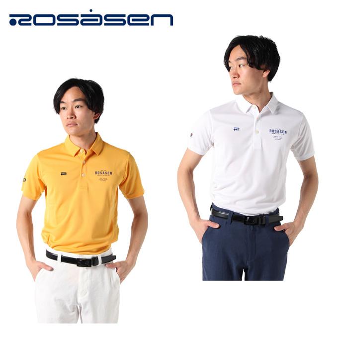 ロサーセン ROSASEN ゴルフウェア ポロシャツ 半袖 メンズ アクアホール 044-22543