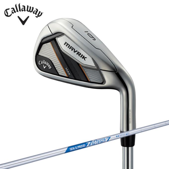 【エントリーで14倍 8/10~8/11まで】 キャロウェイ ゴルフクラブ アイアンセット 5本組 メンズ MAVRIK MAX マーベリック マックス MAVRIK MAX 5I ZELOS7 Callaway