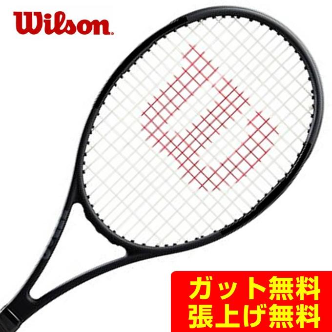 【5/5はクーポンで1000円引&エントリーかつカード利用で5倍】 ウイルソン Wilson 硬式テニスラケット プロスタッフ Pro Staff 97L Black in Black WR038311S