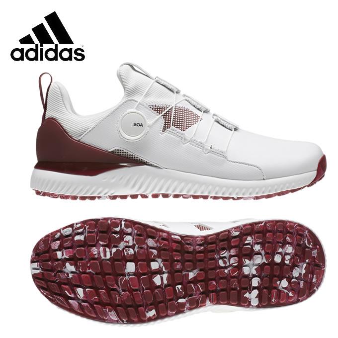 アディダス ゴルフシューズ スパイクレス メンズ アディクロス バウンス ボア ADICROSS BOUNCE BOA EE9155 EPC37 adidas