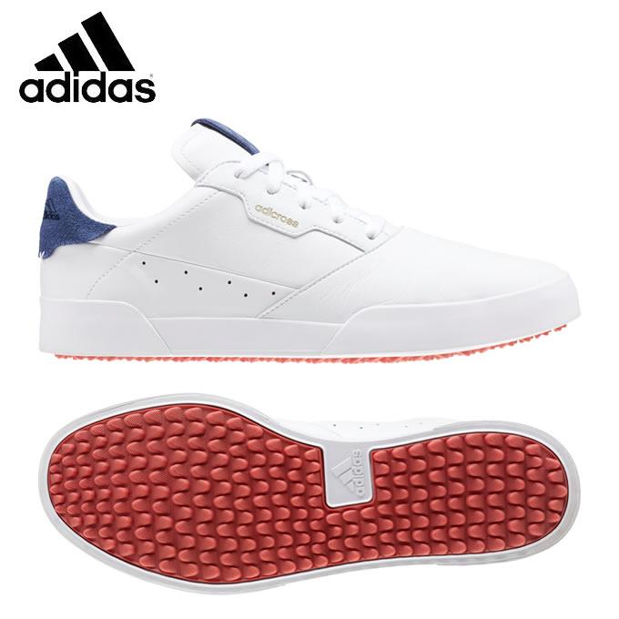 アディダス ゴルフシューズ スパイクレス メンズ アディクロス レトロ EE9164 EPC40 adidas