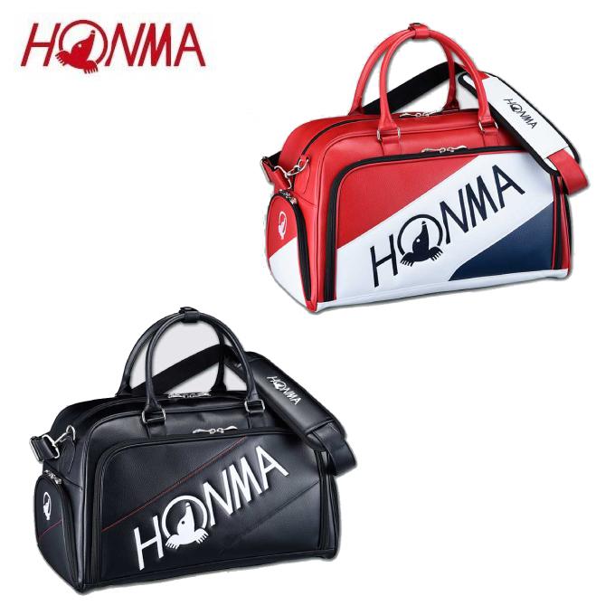 本間ゴルフ HONMA ボストンバッグ メンズ シューズポケット付きトーナメントプロモデルボストンバッグ BB-12001
