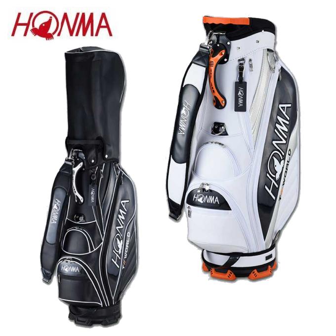 【エントリーで5倍 8/10~8/11まで】 本間ゴルフ HONMA キャディバッグ メンズ TOURWORLD ツアーワールド スポーツタイプ CB12013