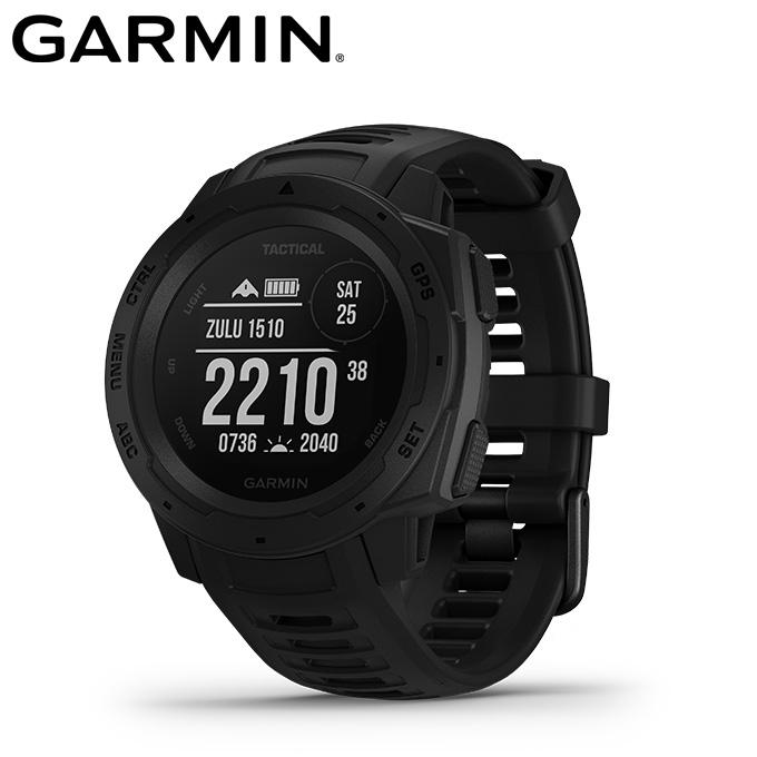 【5/5はクーポンで1000円引&エントリーかつカード利用で14倍】 ガーミン GARMIN ランニング 腕時計 GPS付 メンズ レディース Instinct Tactical 010-02064-82