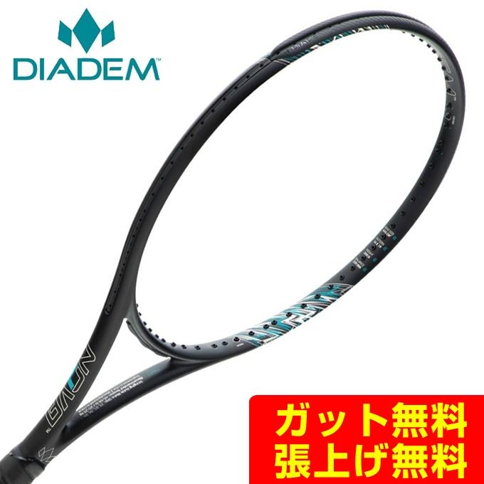 【5/5はクーポンで1000円引&エントリーかつカード利用で5倍】 ダイアデム 硬式テニスラケット メンズ レディース NOVA 100 RK-NVA DIADEM