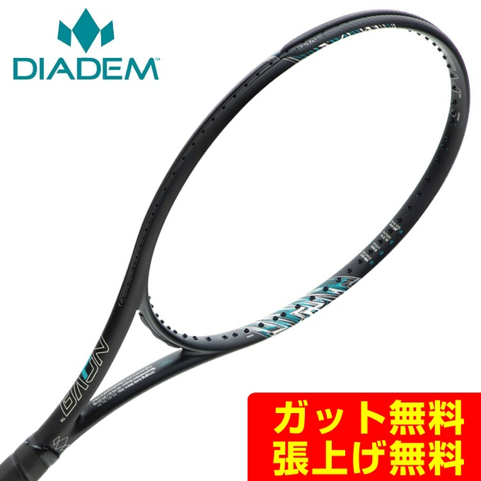 【5/5はクーポンで1000円引&エントリーかつカード利用で5倍】 ダイアデム DIADEM 硬式テニスラケット メンズ レディース NOVA LITE 100 RK-NVA-LTE