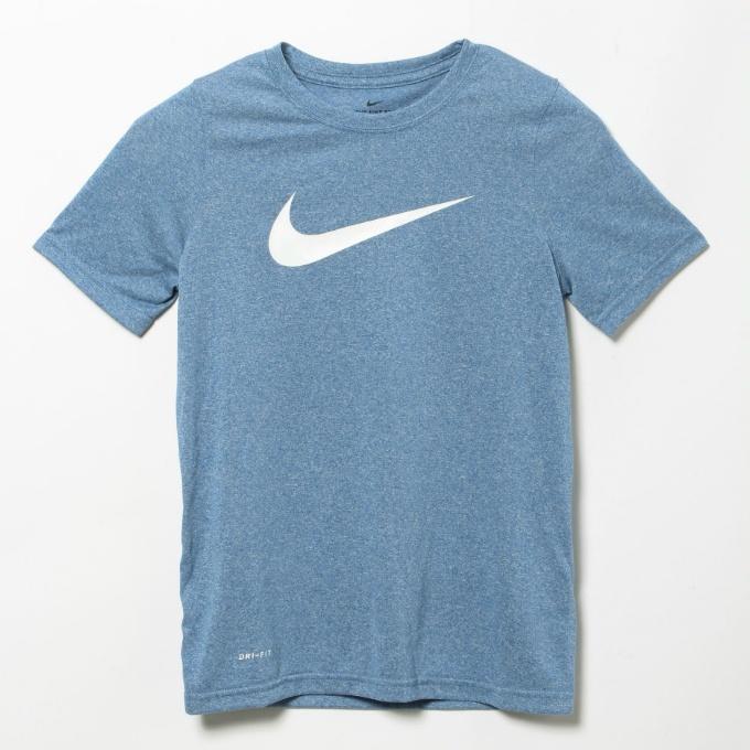 購入後レビュー記入でクーポンプレゼント中 ナイキ Tシャツ 半袖 希望者のみラッピング無料 ジュニア YTH NIKE スウッシュ レッグ DRI-FIT AR5307-456 格安