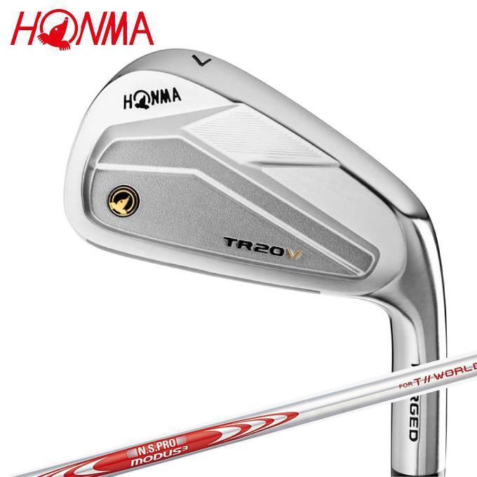 本間ゴルフ HONMA ゴルフクラブ 単品アイアン メンズ T//WORLD TR20-V アイアン スチールシャフト T/W TR20V タンピン MD3-T//WORLD
