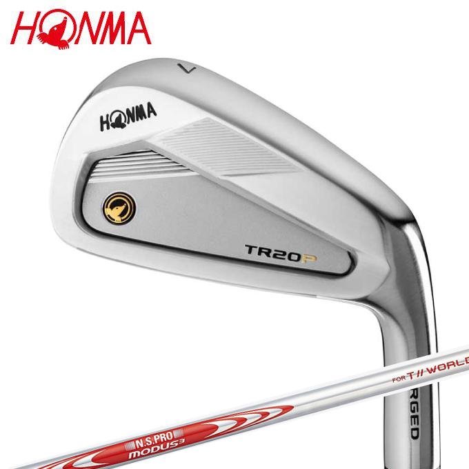 【エントリーで14倍 8/10~8/11まで】 本間ゴルフ HONMA ゴルフクラブ アイアンセット 6本組 メンズ T//WORLD TR20-P アイアン T/W TR20P 6I MD3-T//WORLD