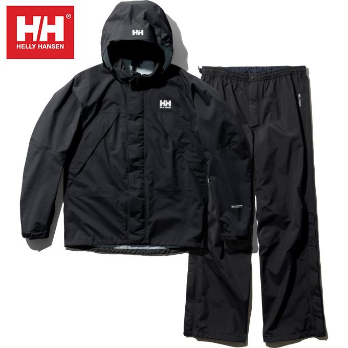 Suit ヘリーレイン HOE12000 KO メンズ レインウェア上下セット Rain ヘリーハンセン HANSEN Helly スーツ HELLY
