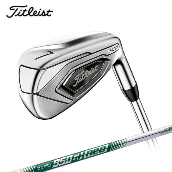 タイトリスト Titleist ゴルフクラブ アイアンセット 5本組 メンズ T400 シャフト N.S.PRO 950GH neo