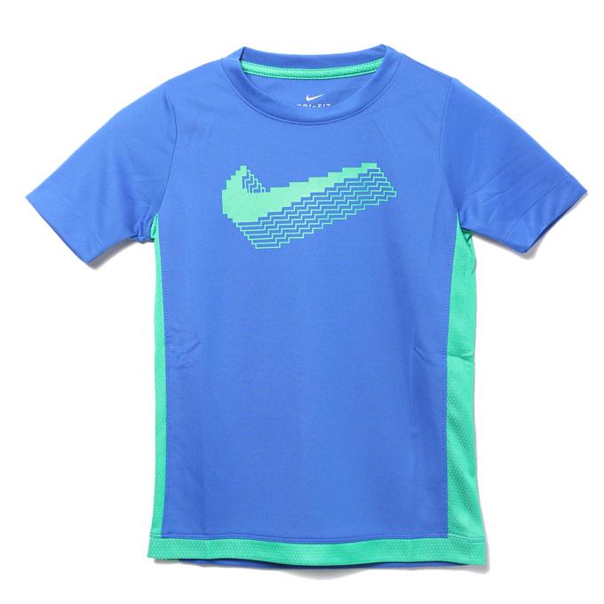 購入後レビュー記入でクーポンプレゼント中 ナイキ Tシャツ 半袖 内祝い ジュニア YTH 特価キャンペーン NIKE グラフィック CU9130-480 トロフィー トップ S