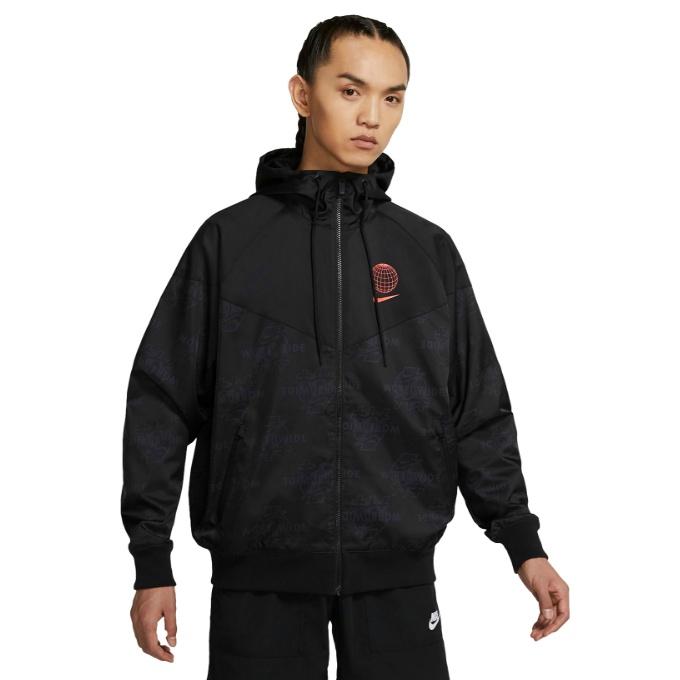 【エントリーで19倍 8/10~8/11まで】 ナイキ ウインドブレーカー ジャケット メンズ Sportswear Windrunner DA1477-010 NIKE