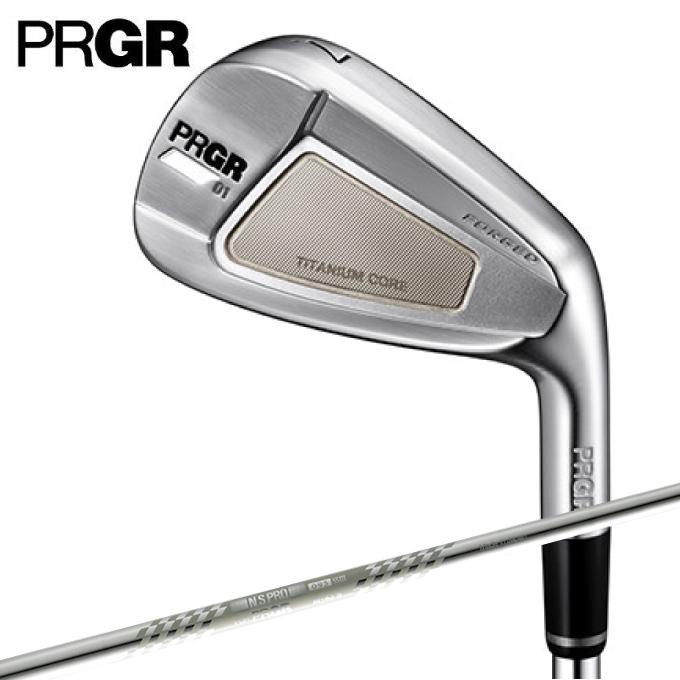 【エントリーで14倍 8/10~8/11まで】 プロギア PRGR ゴルフクラブ アイアンセット 6本組 メンズ アイアン シャフト スペックスチール3 Ver.2 PRGR 01 6I SP-ST3