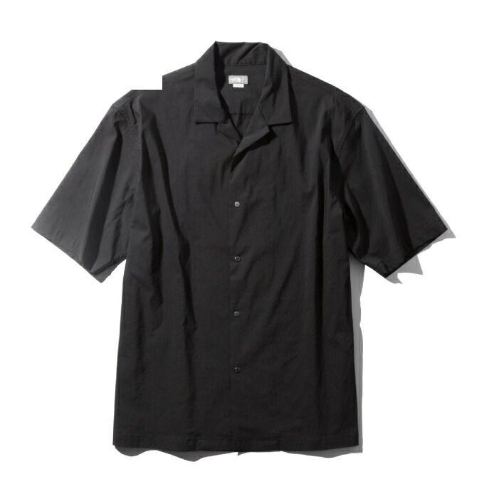 【エントリーで9倍 8/10~8/11まで】 ノースフェイス 半袖シャツ メンズ ショートスリーブマラパイヒルシャツ S/S Malapai Hill Shirt NR22060 K THE NORTH FACE