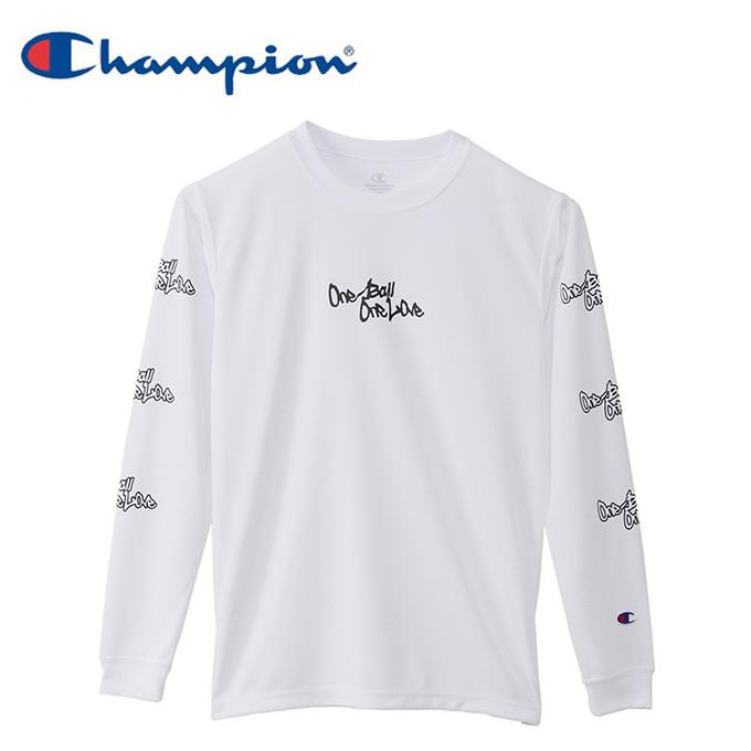 超人気 購入後レビュー記入でクーポンプレゼント中 チャンピオン Champion バスケットボール 長袖シャツ プラクティスロングスリーブTシャツ ジュニア 日本正規代理店品 CK-SB417-010
