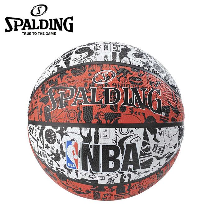 購入後レビュー記入でクーポンプレゼント中 本物 スポルディング SPALDING 着後レビューで 送料無料 バスケットボール 6号球 84-310J レッド Graffiti