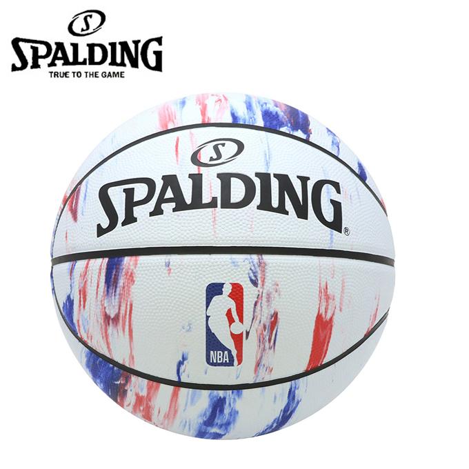 購入後レビュー記入でクーポンプレゼント中 記念日 スポルディング SPALDING バスケットボール マーブル 売買 84-312J 6号球 NBAロゴ