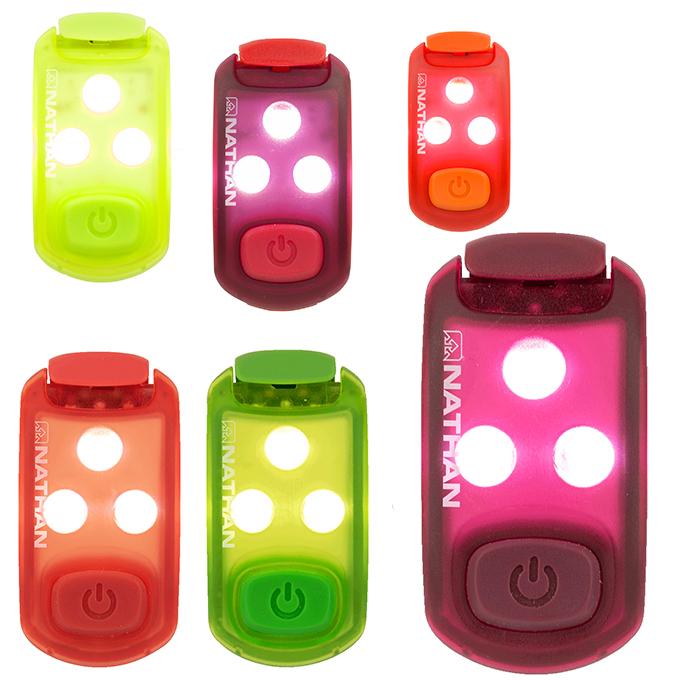 大決算セール 購入後レビュー記入でクーポンプレゼント中 上質 ネイサン NATHAN ランニング ウォーキング NS5113 反射板 ストローブライト2.0
