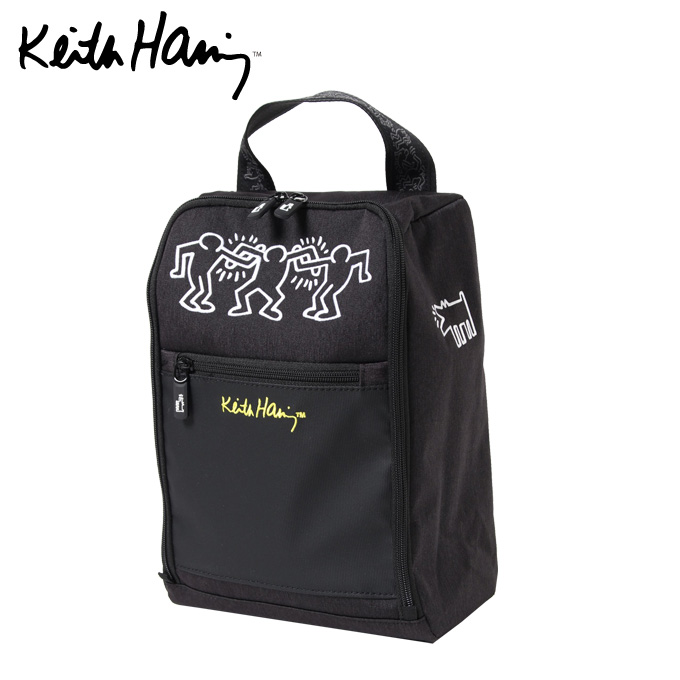 【購入後レビュー記入でクーポンプレゼント中】 キースヘリング Keith Haring シューズケース SC KHSC-02