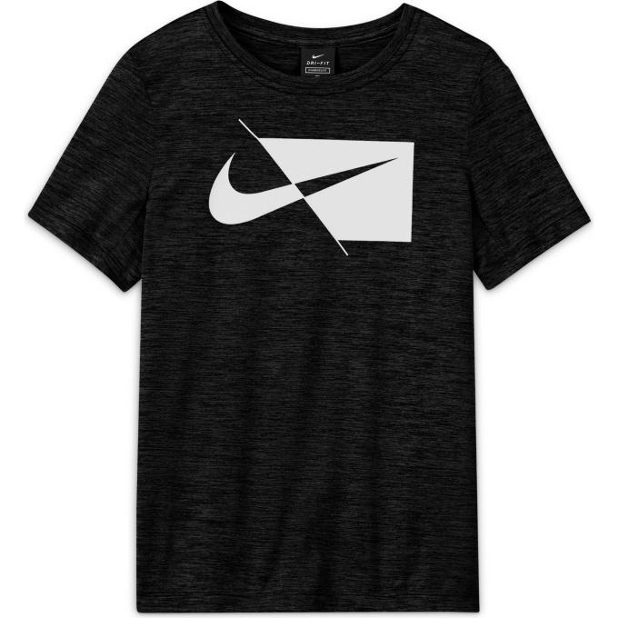 購入後レビュー記入でクーポンプレゼント中 ナイキ 無料 Tシャツ 半袖 ジュニア DRI-FIT DA0282-010 毎日激安特売で 営業中です S ハイブリッド トップ NIKE