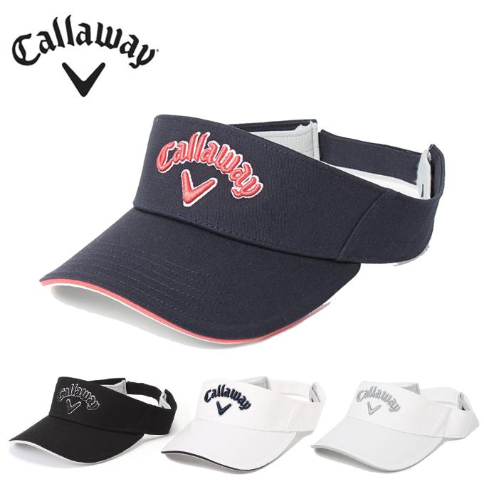 未使用 購入後レビュー記入でクーポンプレゼント中 キャロウェイ ゴルフ サンバイザー 毎日激安特売で 営業中です Callaway ベーシックバイザー レディース 241-1991809