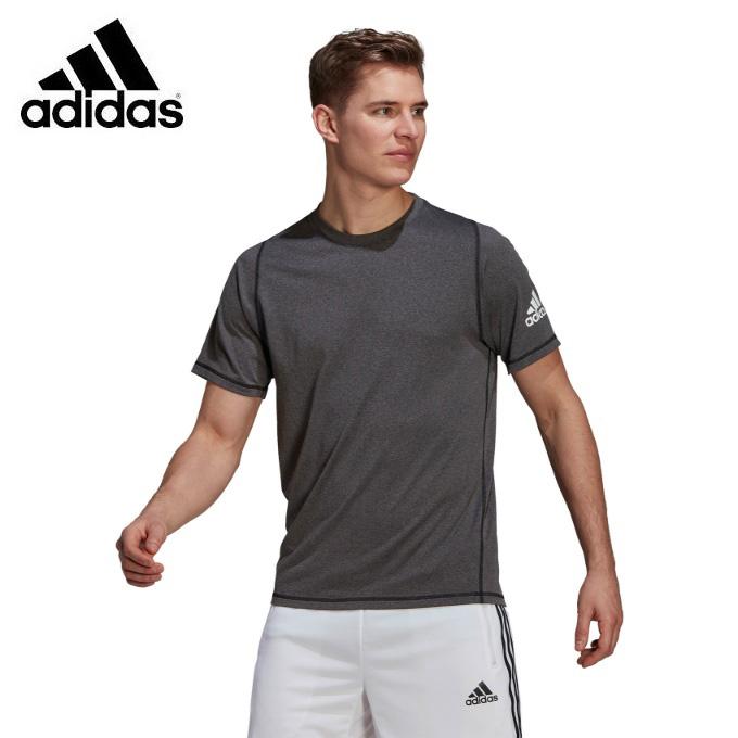 購入後レビュー記入でクーポンプレゼント中 数量限定 アディダス Tシャツ 半袖 メンズ フリーリフト IYI89 ☆正規品新品未使用品 adidas GU2777 Ultimate メランジ