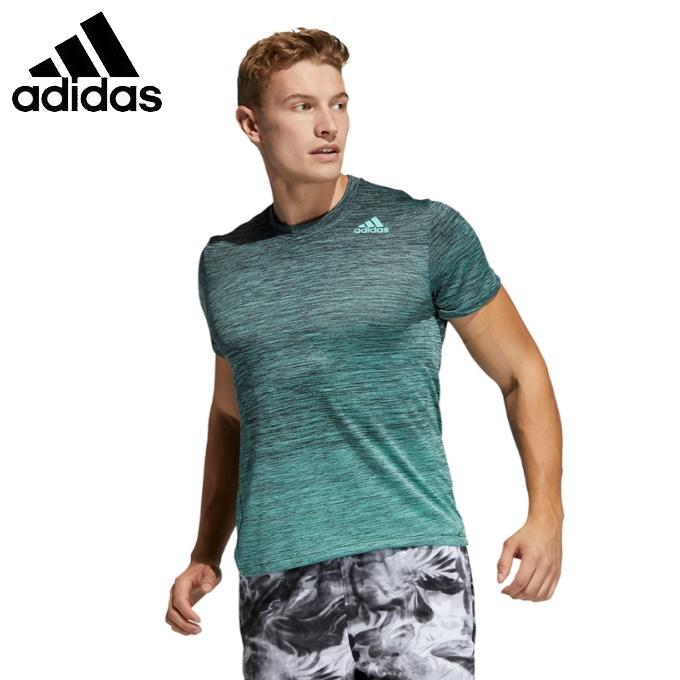 購入後レビュー記入でクーポンプレゼント中 アディダス Tシャツ 半袖 メンズ テック メイルオーダー GM1075 グラデーション GLC04 adidas 国内送料無料