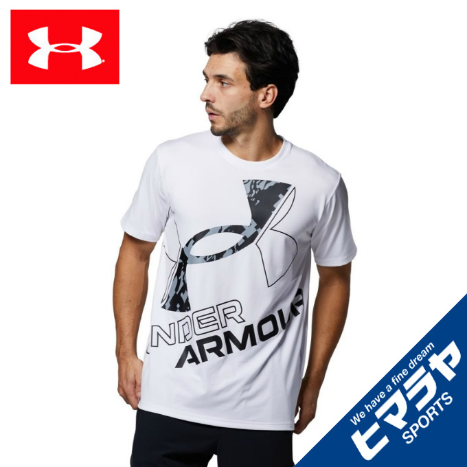 購入後レビュー記入でクーポンプレゼント中 アンダーアーマー Tシャツ 70%OFFアウトレット 半袖 メンズ UAテック 1364328-100 シーズナル ワード 国際ブランド ARMOUR マーク UNDER