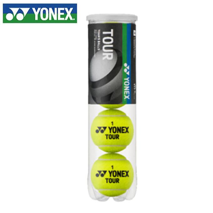 購入後レビュー記入でクーポンプレゼント中 ヨネックス 硬式テニスボール TOUR TB-TUR4P YONEX 4個入ペット缶 期間限定特別価格 ツアー NEW売り切れる前に☆