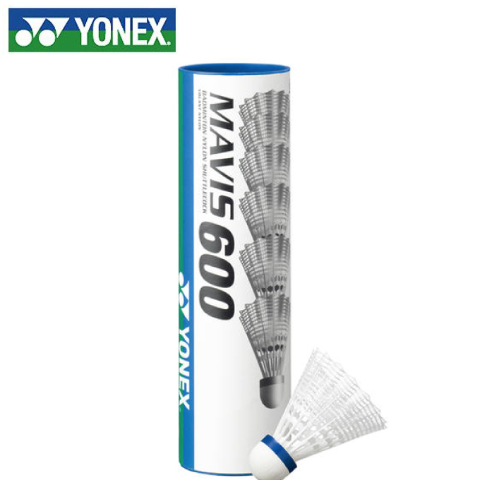 購入後レビュー記入でクーポンプレゼント中 ヨネックス ナイロンシャトル 海外 メイビス600P YONEX M-600P 最安値挑戦 6ヶ入り