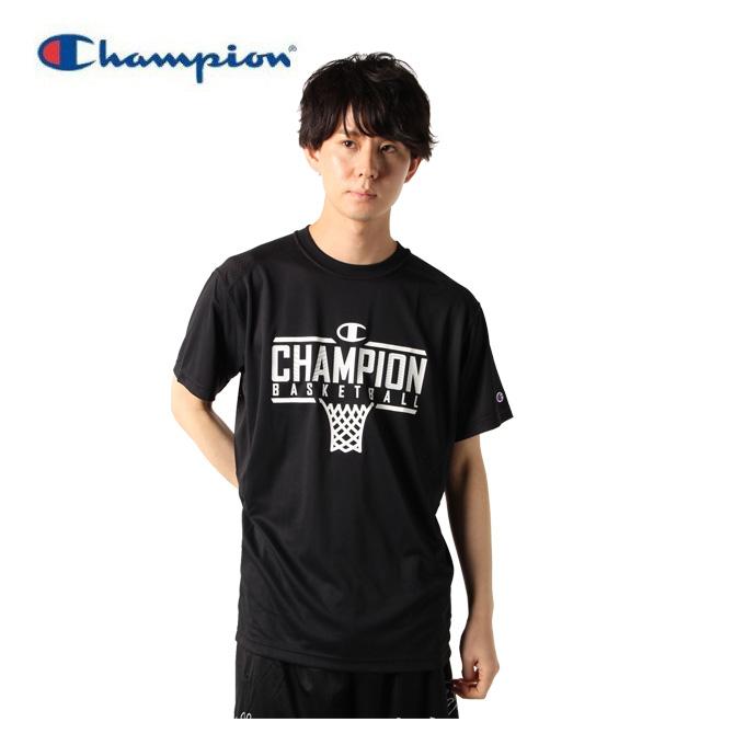 【購入後レビュー記入でクーポンプレゼント中】 チャンピオン Champion バスケットボールウェア 半袖シャツ メンズ ベンチレーションTシャツ C3-TB315-090
