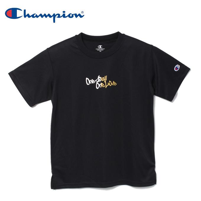 購入後レビュー記入でクーポンプレゼント中 チャンピオン Champion OUTLET SALE バスケットボールウェア 半袖シャツ 返品不可 E-MOTION プラクティスTシャツ CK-TB311-981 キッズ ジュニア