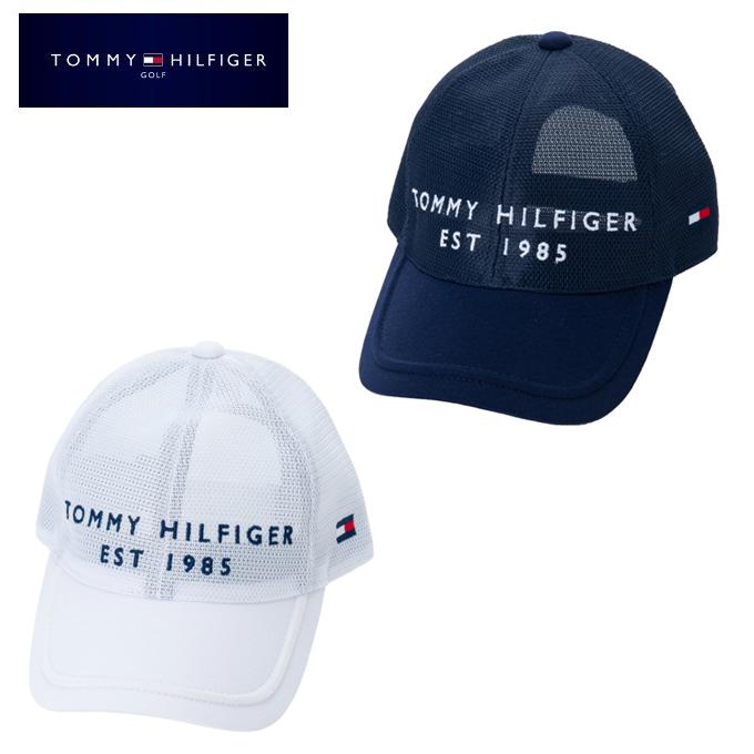 【購入後レビュー記入でクーポンプレゼント中】 トミーヒルフィガーゴルフ TOMMY HILFIGER GOLF ゴルフ キャップ メンズ オールメッシュキャップ ALL MESH CAP THMB217F