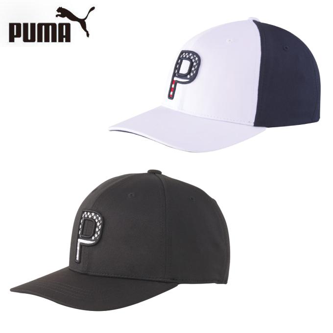 購入後レビュー記入でクーポンプレゼント中 プーマ ゴルフ キャップ メンズ PARS P110 STRIPES 18%OFF スナップ PUMA 再入荷 予約販売 023300